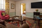 Sterling Suite sitting room at our Eastern Shore bed and breakfast
