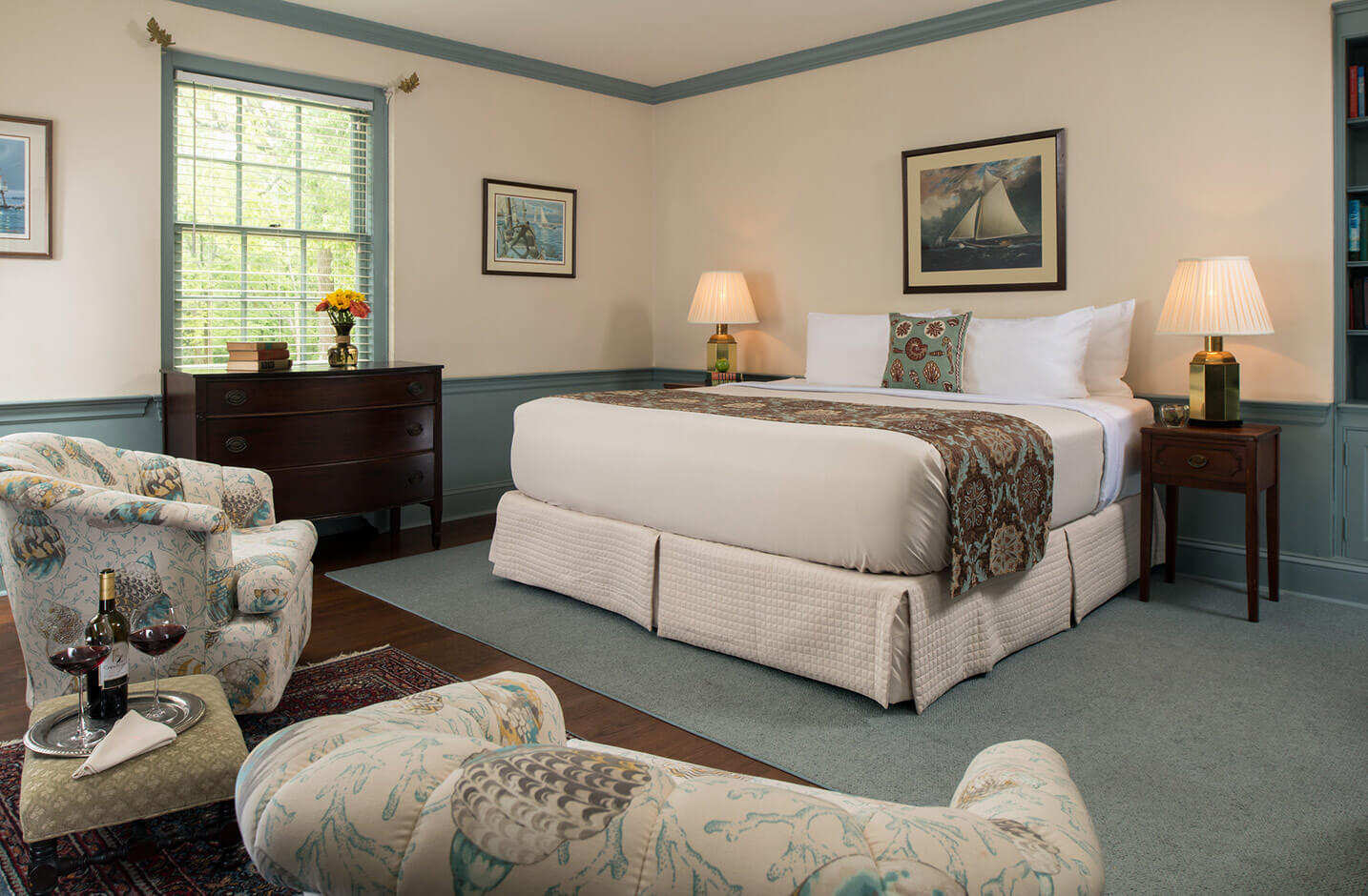 The Wickes Room offers exceptional weekend getaways from DC