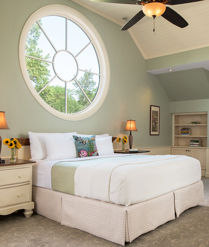 Bed in the Carriage House
