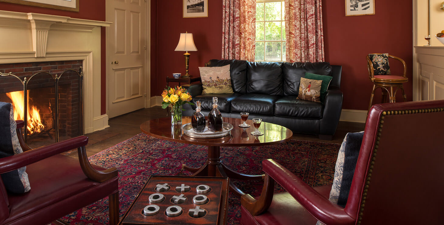 Sitting room at our Chesapeake Bay bed and breakfast