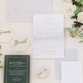 Maryland wedding invites and other details