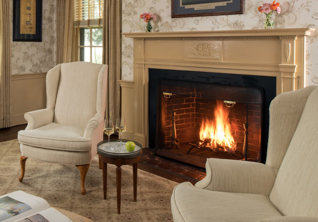 January Midweek Special Fireplace Room