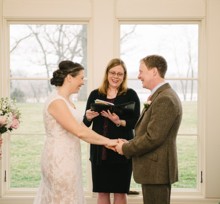 Small Wedding Ceremony at Great Oak Manor