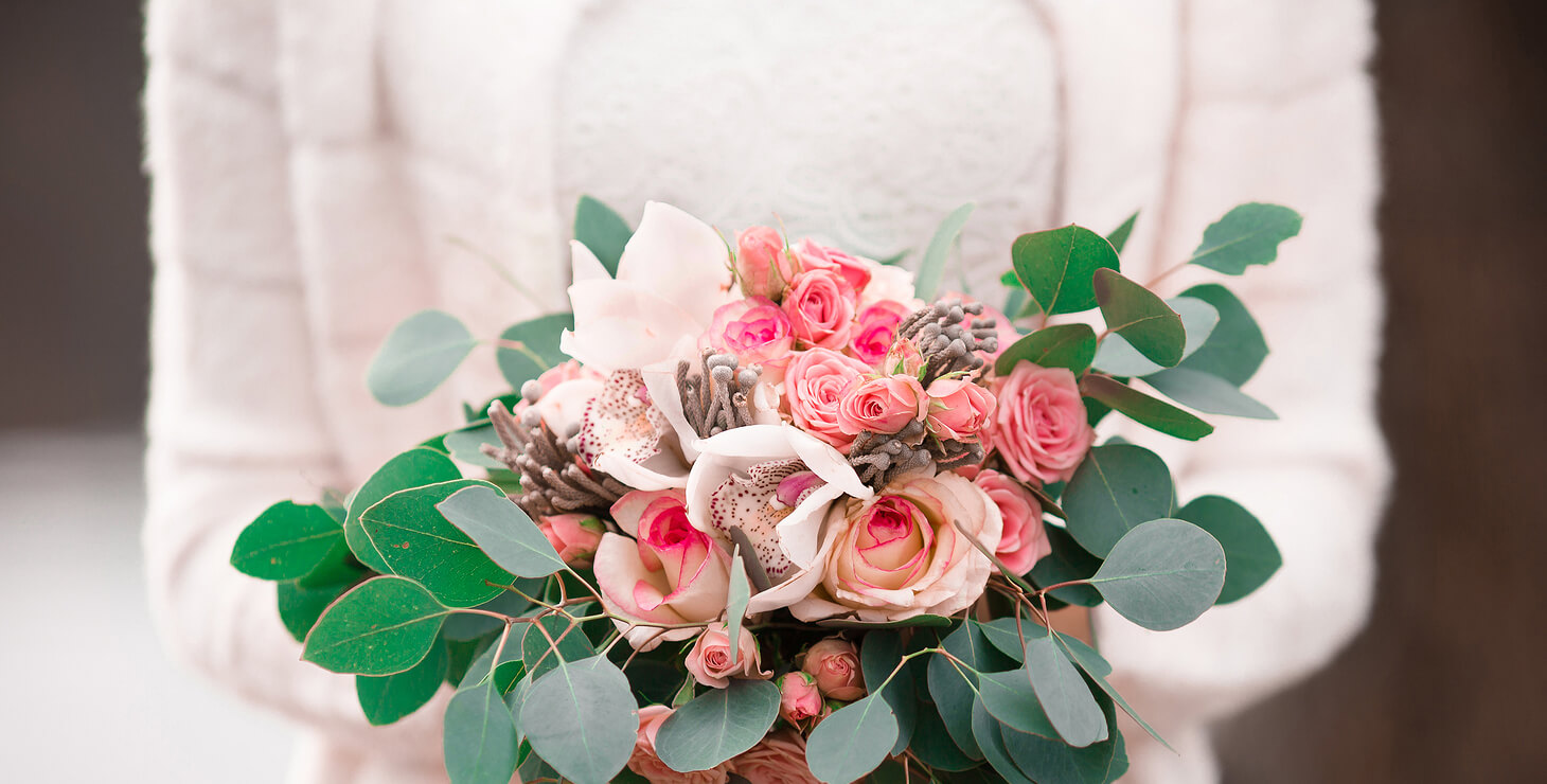 Beautiful Winter Wedding Boquet