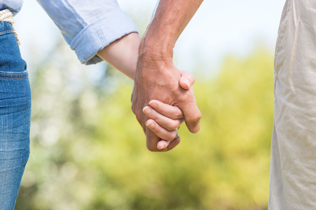 Walking tours in Chestertown, MD - Couple Holding Hands