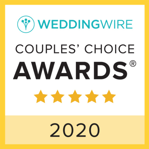 Wedding Wire Couples' Choice Award badge