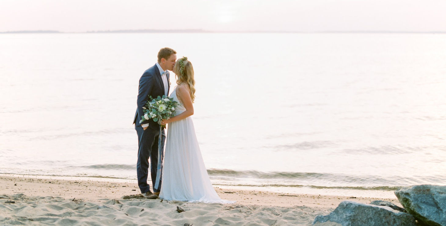 You and Me By the Bay Wedding MD Elopement Package